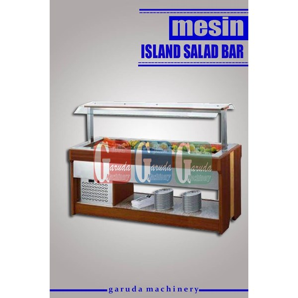 Alat alat Mesin Pendingin Salad Buah dan Sayur ( Island Salad Bar )