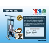 Jual  Mesin Press Ulir Manual