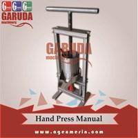 Mesin Press Ulir Manual