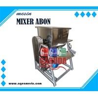 Mixer Abon dengan Penggoreng (Pencacah Abon + kompor)