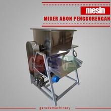 Mixer Abon dengan Penggoreng (Pencacah Abon + komp