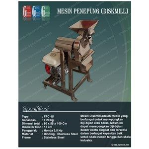 Mesin Diskmill Stainless