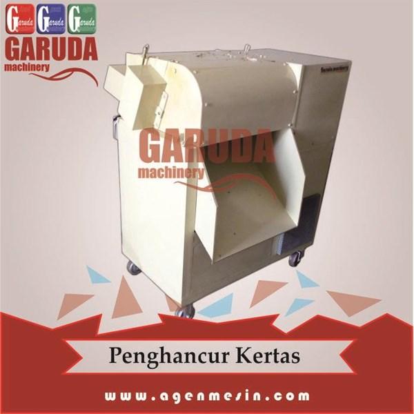 Mesin Penghancur Dokumen atau Kertas Kaps. 50 kg/jam