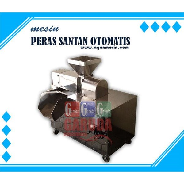 Mesin Pemeras Santan Otomatis (Screw Press)