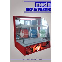 Display Penghangat Ayam (Display Warmer)