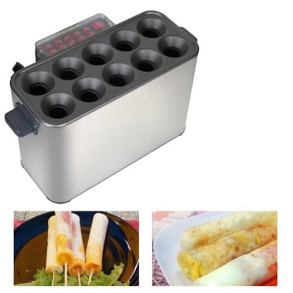 Egg Roll Hot Dog Baker Alat Pembuat Pemanggang Sosis Telur Gulung
