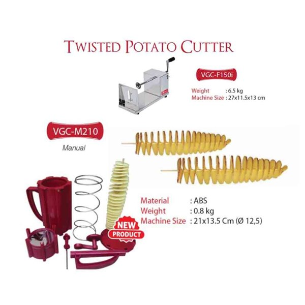 Potato Cutter (Alat Pembuat Kentang Berbentuk Spiral )