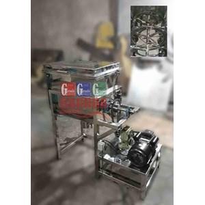 Mesin Pengaduk Bahan Powder (Ribbon Mixer)