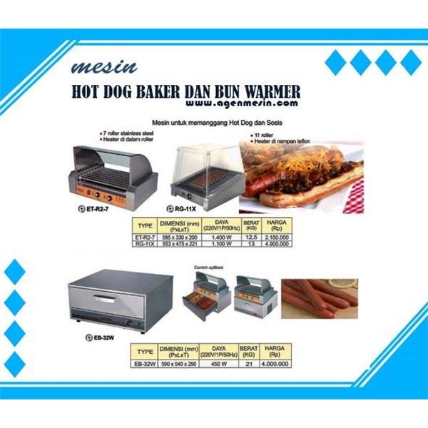 Mesin Pemanggang Hotdog Dan Sosis