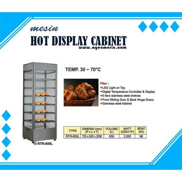 Cabinet Penghangat Makanan