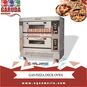 Gas Pizza Deck Oven Type RFL-24PSS