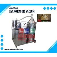 Jual Mesin Evaporator Vacuum