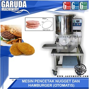 mesin pencetak Nugget dan Hamburger Otomatis