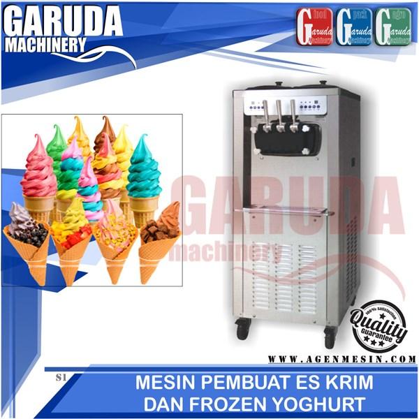 Mesin Pembuat soft Ice Cream dan Frozen Yoghurt