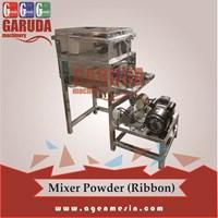 Mesin Pengaduk bahan Bubuk RIBBON
