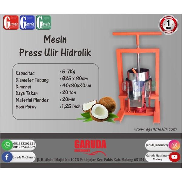 Coconut Milk Extractor Machine (Hydraulic Screw Press)