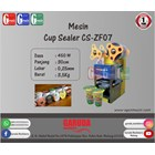 Mesin Segel Gelas Plastik (Cup Sealer) CS-ZF07 1