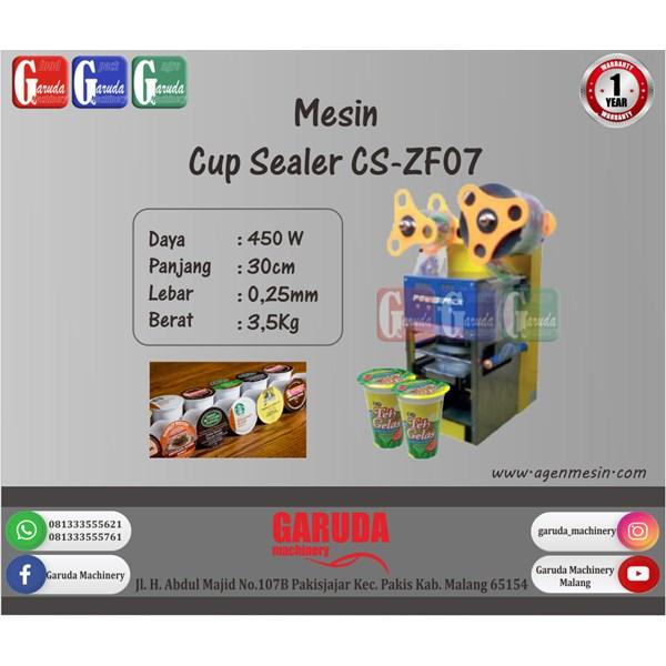 Mesin Segel Gelas Plastik (Cup Sealer) CS-ZF07