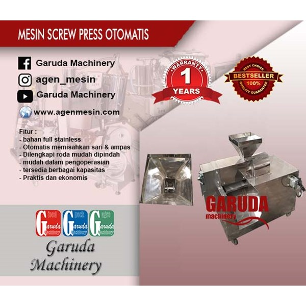 Mesin Screw Press Otomatis