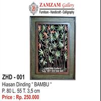 ZHD - 001 HIASAN DINDING BAMBU