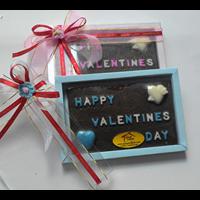 Choco Card - Coklat Ucapan Happy Valentine