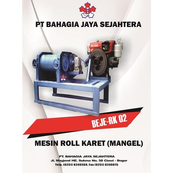 Sell RUBBER ROLL MACHINE MANGEL