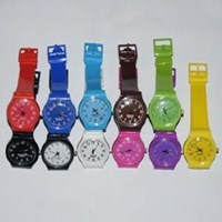 Jual Jam Tangan Swatch Mini Color