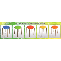 Jual Stackable Round Chair