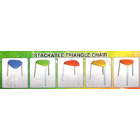 Jual Stackable Triangle Chair