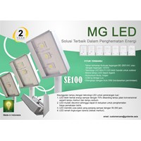 Lampu LED MG Type SE 100(50X2)