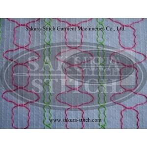Mesin Jahit Shirring Smocking S-12048Psm