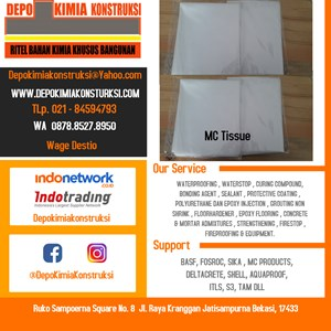 Dari Mc Mat Tisue Bahan Waterproofing 0