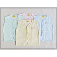 Jual BNB029 - Baju Bayi New Born Fluffy Kutung Salur 4 Pcs