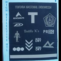 Jual Cetak Stiker Label Transfer Panas Reflektif