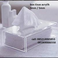 Jual Box Tissue Akrilik