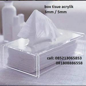 Box Tissue Akrilik
