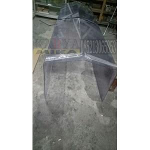 Tekuk akrilik PVC Polycarbonate