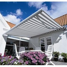 Retractable Motorized Awning