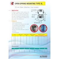per mesin / springs Anti Getar Isolator Genset Pompa Chiller Fan 1