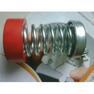 per mesin / springs Anti Getar Isolator Genset Pompa Chiller Fan