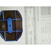 Jual Rubber conveyor belt polyester roller  2