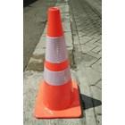 Traffic cone karet 70cm 2