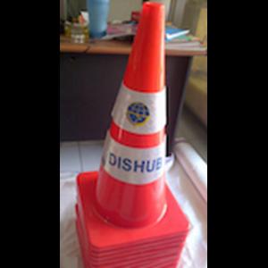 Dari Traffic cone karet 70cm 2