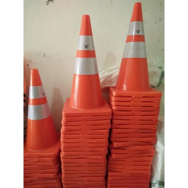 Traffic cone karet 70cm