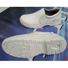 Sepatu Safety Steel Horse 9133 White