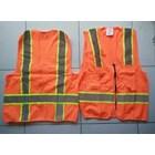Pakaian Safety rompi polyester 4 kantong 2