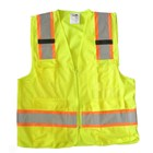 Pakaian Safety rompi polyester 4 kantong 3