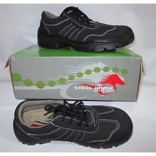Sepatu safety kulit Steel Horse 9131