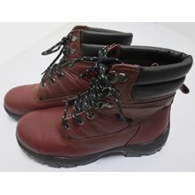 Sepatu safety Steel Horse 9369 Maroon