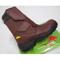 Sepatu safety Steel Horse Maroon 9590 Scotlite